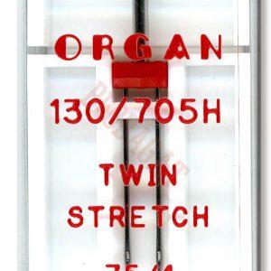 Igle za šivaće mašine Organ Twin Strech