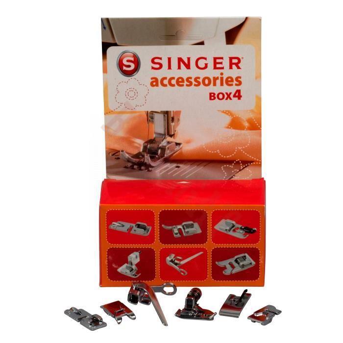 Stopice Singer BOX 4