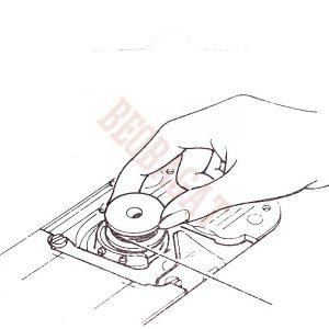 Špulna za Singer šivaće mašine